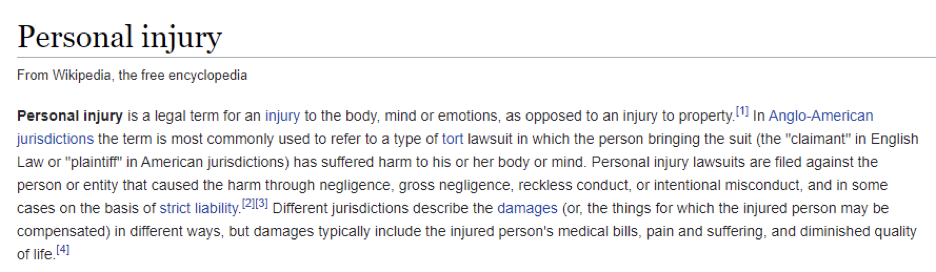 wikipedia for keyword research for lawyers